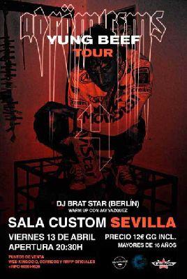 Concierto: Yung Beef en Custom Sevilla 2018