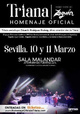 Concierto: Zaguán, Homenaje oficial a Triana en Malandar Sevilla