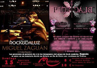 Concierto: Miguel Zaguán y Pink Black en Malandar Sevilla