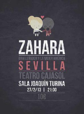 Concierto: Zahara gira Leñador y la mujer América en Sevilla