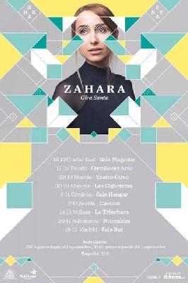 Concierto: Zahara en Custom Sevilla 2015