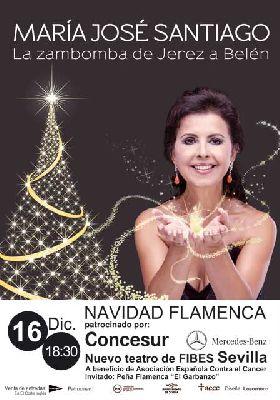Flamenco: Zambomba benéfica con María José Santiago en Fibes