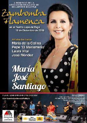 Flamenco: Zambomba con María José Santiago en el Lope de Vega de Sevilla