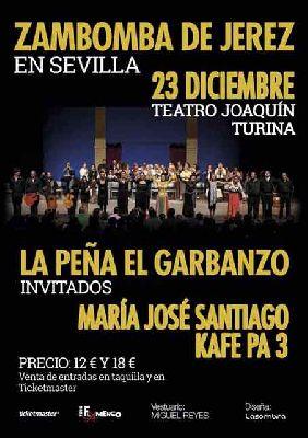 Flamenco: Zambomba de Jerez de la Peña el Garbanzo en Sevilla