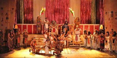 Zarzuela: La corte de faraón en Fibes Sevilla