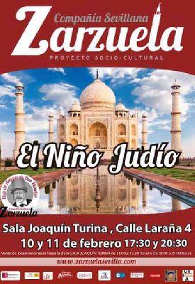 Zarzuela: El niño judío en el Espacio Turina de Sevilla
