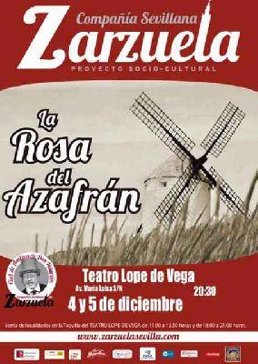 Zarzuela: La rosa del azafrán en el Teatro Lope de Vega de Sevilla 2018