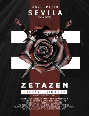 Concierto: Zetazen en la Sala Even Sevilla 2018