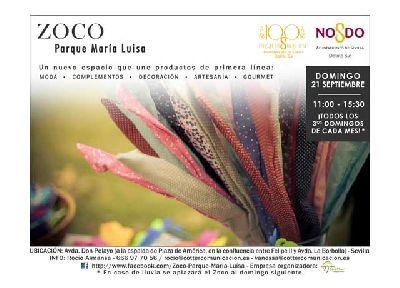 Vuelve el Zoco al Parque de María Luisa de Sevilla