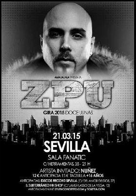 Concierto: ZPU presenta Doce lunas en Fanatic Sevilla